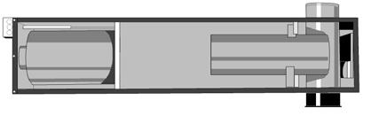 11. Теплоообменник воздухонагревателя модели 140H арт.14033234 и 200H арт.14033209